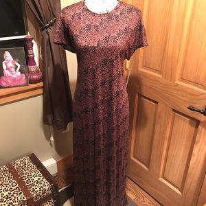 NWT M LLR LEOPARD Printed Maria Maxi Dress!!